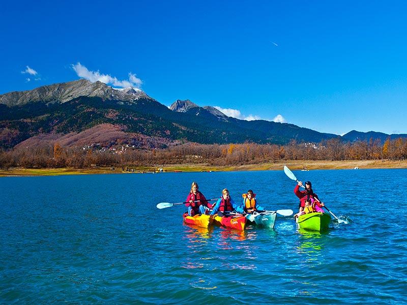 Canoe Kayaking in Greece