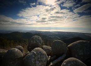 Rhodes rocks